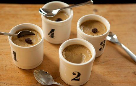 Espresso Pots de Creme. One of my favorite coffee desserts!: