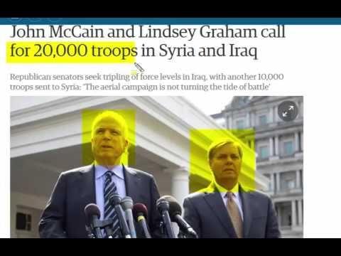 John McCain and Lindsey Graham Scam - YouTube
