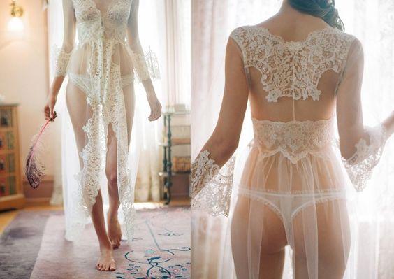 lencería para la noche de bodas