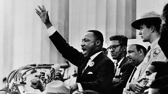 """38.Martin Luther King Delivers His """"I have a dream"""" speech (1963)"""