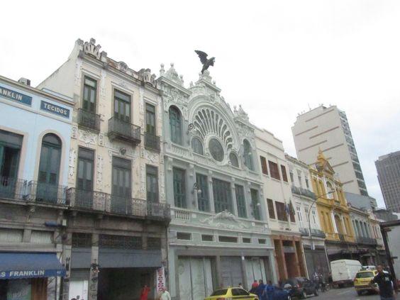 Rio de Janeiro, Brasil - Avenida Passos (centro histórico)