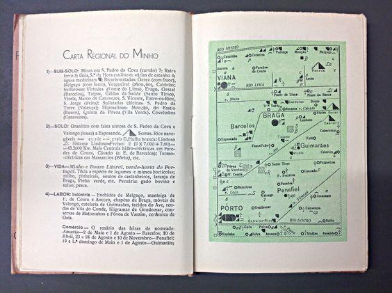 """""""Portugal: O que Todo o Português Deve Conhecer"""" Paulo de Cantos (1939) Livraria Povoense (Povoa do Varzim)"""