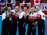 Canada swept the curling event at the 2014 Winter Olympics in Sochi Russia. The men's team beat Great Britain 9-3 on Friday, a day after the women beat Sweden 6-3.