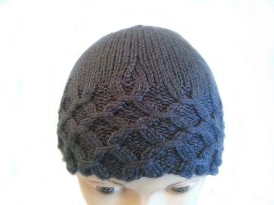 Gathered Rib Knitted Hat  Rib Stitch Hat  Unique by stayinstitches, $30.00 for Acrylic, $40.00 for Cotton, $45.00 for Wool.