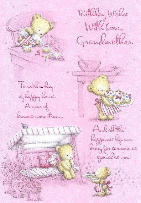 Happy birthday grandma grandmother birthday cards my for What to get my grandma for her birthday