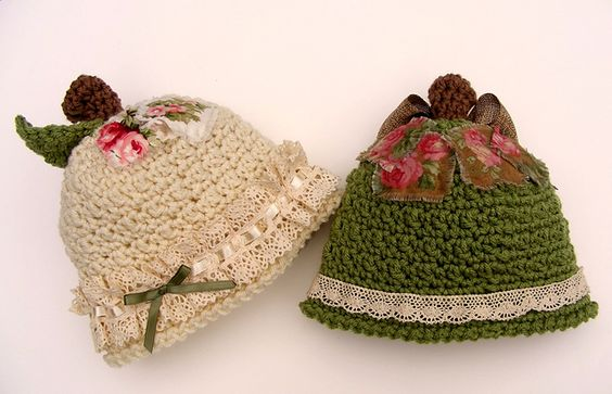 Ravelry: Country Apple Hat, Bib, Diaper Cover pattern by Kris Moore pretty
