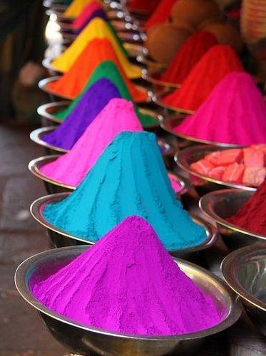 Colores, sabores y olores del mundo.