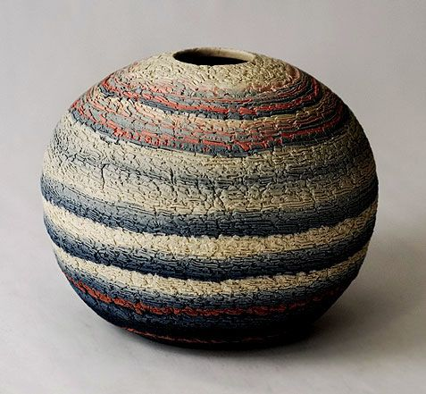 Gerro de Matsui Kosei. - I Absolutely Love Pottery & this is some of the Finest I have ever seen !: