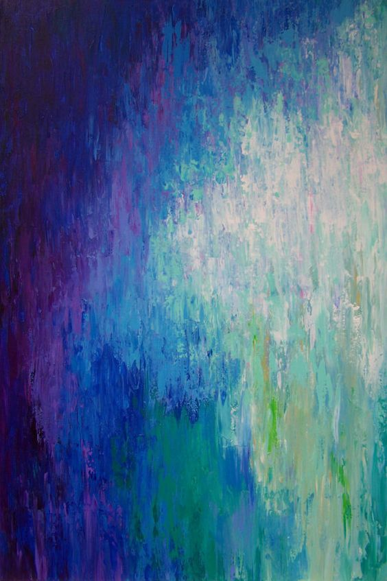 Large abstract wall art Fine art print Purple by ArtFromDenise
