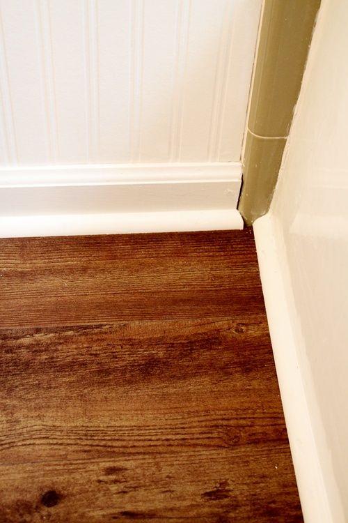 Allure vinyl plank wood floor vinyls entry hallway and - Waterproof vinyl flooring for bathrooms ...