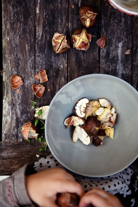roasted chestnuts   cannelle et vanille