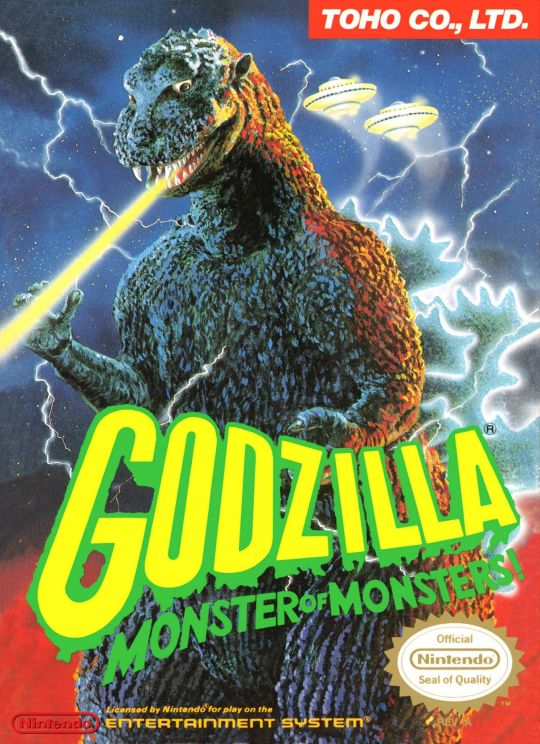 Image result for godzilla monster of monsters nes