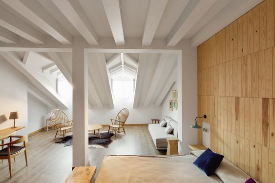 9 hoteles en los que desconectar del mundo home Pinterest - holz stahl interieur junggesellenwohnung