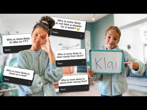 Klailea Youtube In 2020 Take A Shower Youtube This Or That Questions
