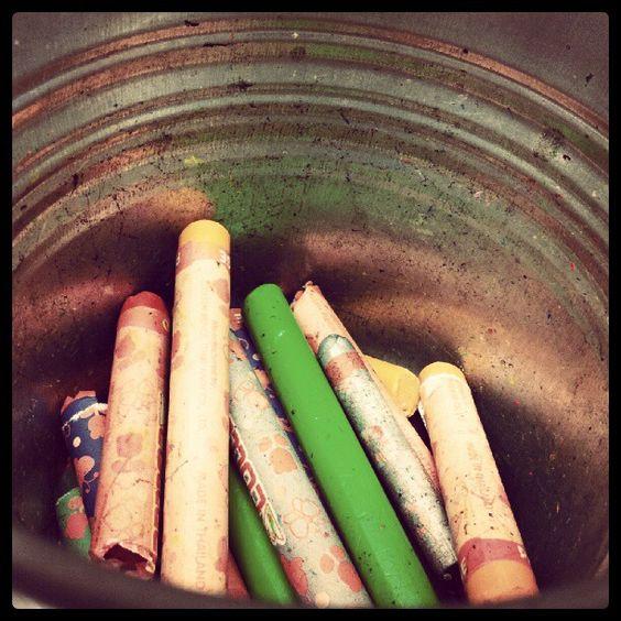 Crayons for kids. ;) - @himmelkun | Webstagram