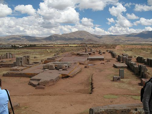 Ruins at Puma Punku, Bolivia. by rctimmermann, via Flickr