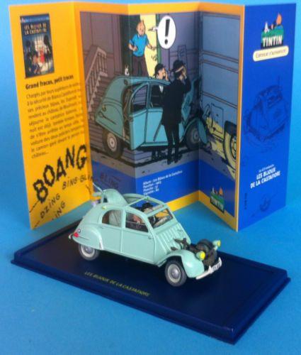 Voiture Tintin Car Atlas N 176 33 Citro 235 N 2 Cv 1954 Les Bijoux