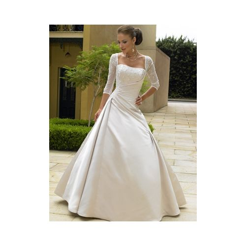Add Sleeves To Strapless Gowns