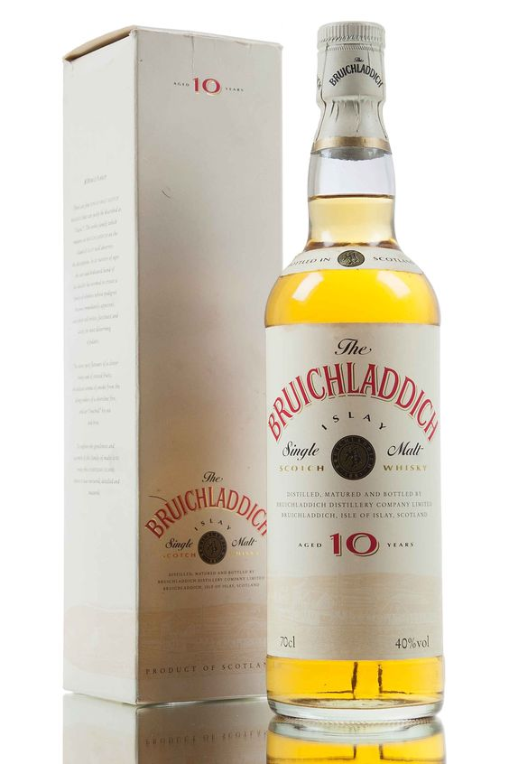 A rare and old Bruichladdich 10 year old bottled during the 1990's.