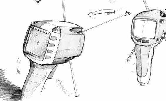 Industrial Design Sketches Furniture Some Pencil