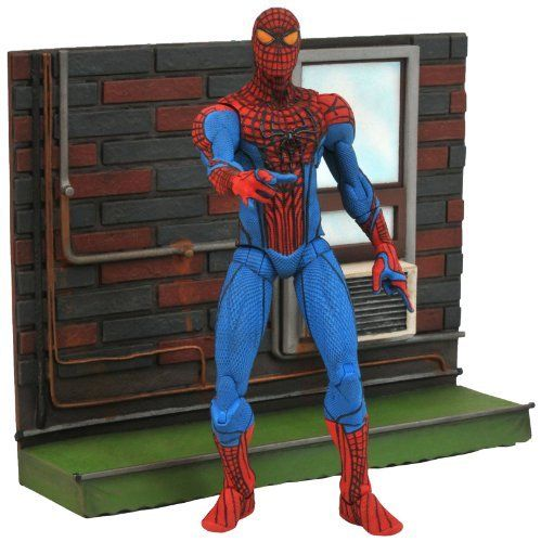 Diamond Select Toys Marvel Select: Amazing Spider-Man Movie Action Figure http://www.amazon.com/Diamond-Select-Toys-Marvel-Spider-Man/dp/B007KZ73EE/?tag=pinterest79-20