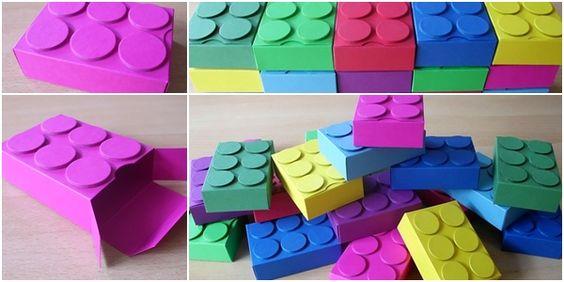 Legosteine ... toll für Geldgeschenke für kleine und große Jungs