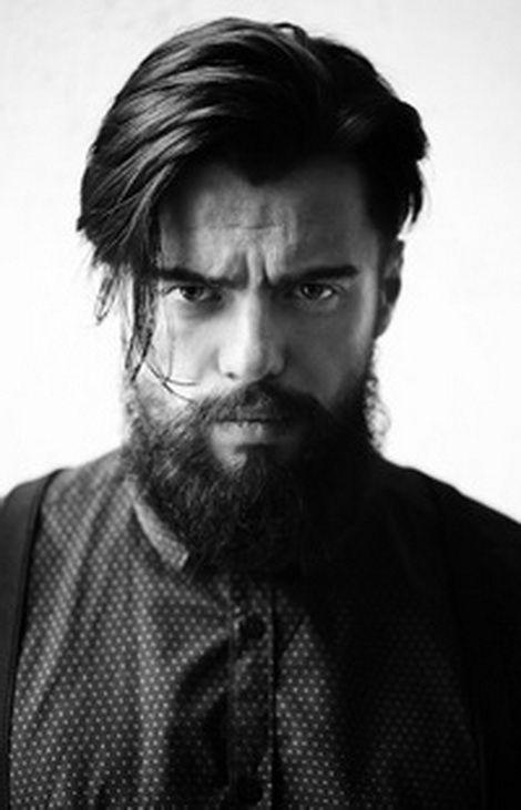 Прически мужские с бородой