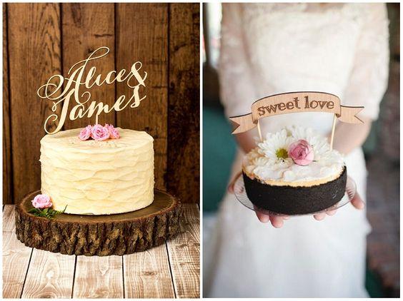 Augenschmaus: Die 5 schönsten Cake Topper zur Dekoration der Hochzeitstorte | Hochzeitsblog - The Little Wedding Corner