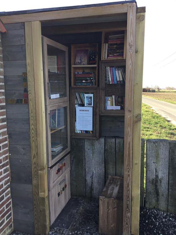 Boekenruilkast Ruien