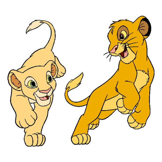 Cartoon Characters Lion King : The lion king clipart liked on polyvore featuring home