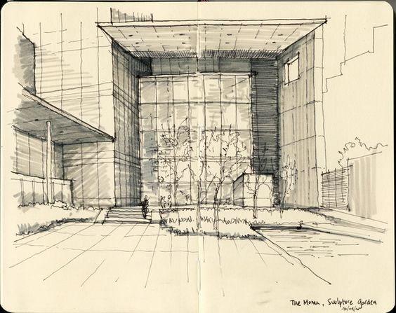 Arkitektur arkitektur sketch : NY & Chicago Architecture Sketches on Behance | Sketches ...