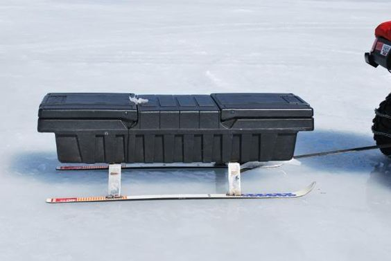 Let 39 s see your ice fishing sleds p che blanche for Ice fishing sled ideas