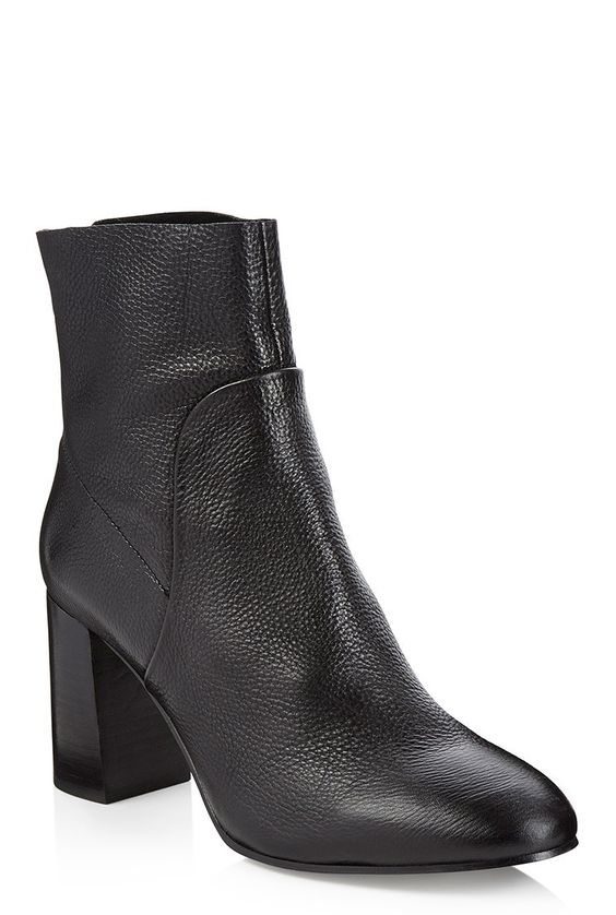 LTS Milli Flare Heel Leather Boot