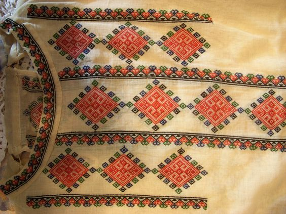 Serbian embroidery