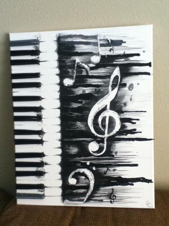 piano crayon melt   Melting Music by ~CrystalmChavez on deviantART. Ok, I LOVE LOVE LOVE THIS!!!