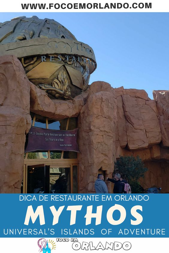 Mythos - o Restaurante do Islands of Adventure