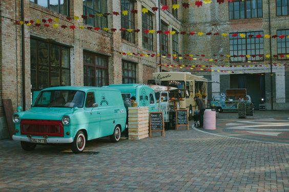 Food trucks for restaurant business