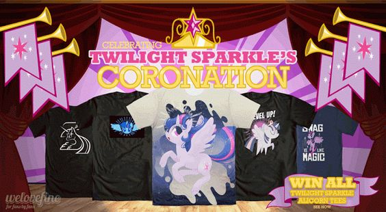 Equestria Daily: We Love Fine Releases Piles of Twilacorn Swag + Raffle