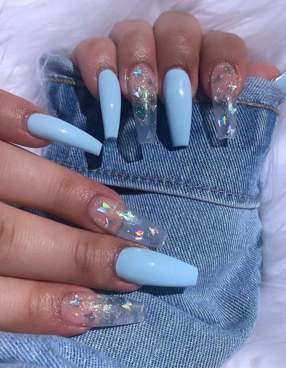 Super Cute Best Long Nail Designs To Copy Now In 2020 Glamour Nails Wedding Acrylic Nails Coffin Nails Designs