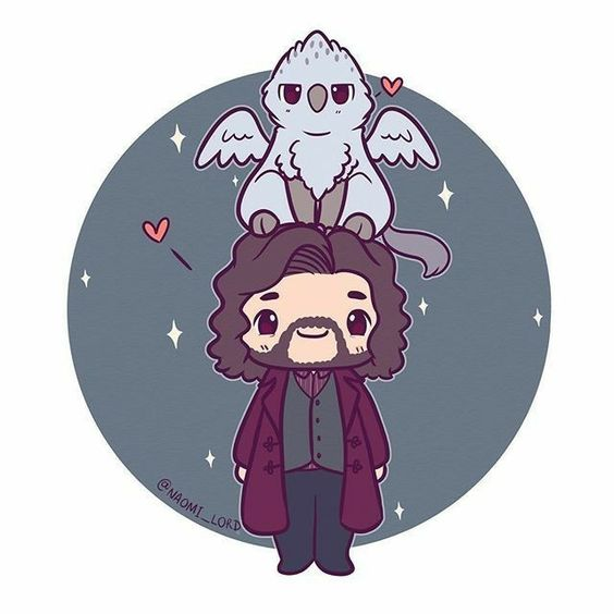 Sirius Black and Buckbeak (Witherwings)