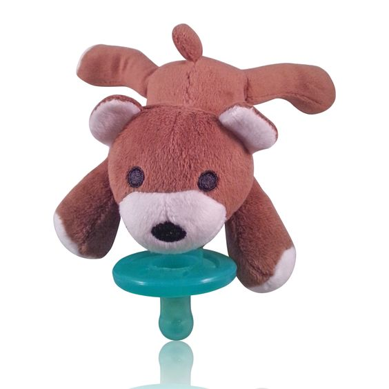 Bear Plush Animal Pacifier Soft And Gentle Pacifier