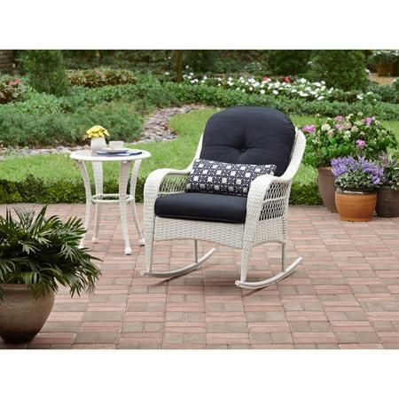 Better Homes And Gardens Azalea Ridge Outdoor Side Table White