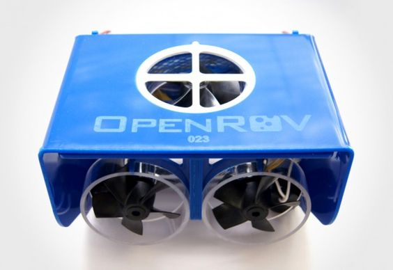 OpenROV - a Remotely Operated Vehicle or ROV for less than a grand or slightly more if you want it come fully assembled. this is not a toy, though.