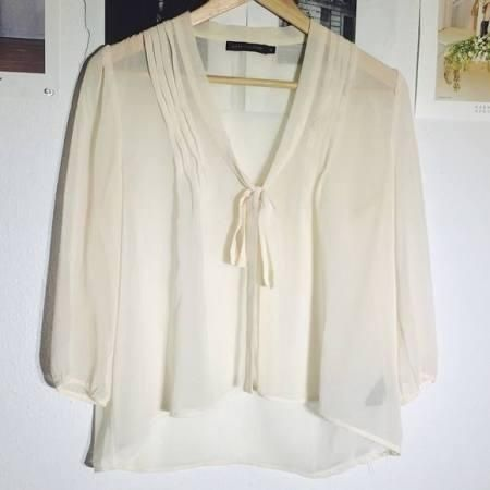 Sheer blouse - Brought to you by Avarsha.com