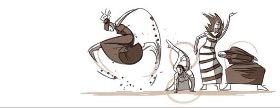 Google - Martha Graham by Ryan J Woodward. I worked with a Dancer and Choreographer from the Martha Graham Dance Company in New York to create this Google Doodle that was released on May 10th and 11th on Google.com.  More of Ryan's animations at http://ryanwoodwardart.com
