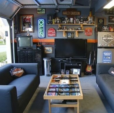 Pinterest the world s catalog of ideas for 2 car garage man cave