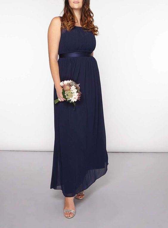 **Showcase Curve 'Natalie' maxi dress - Dorothy Perkins