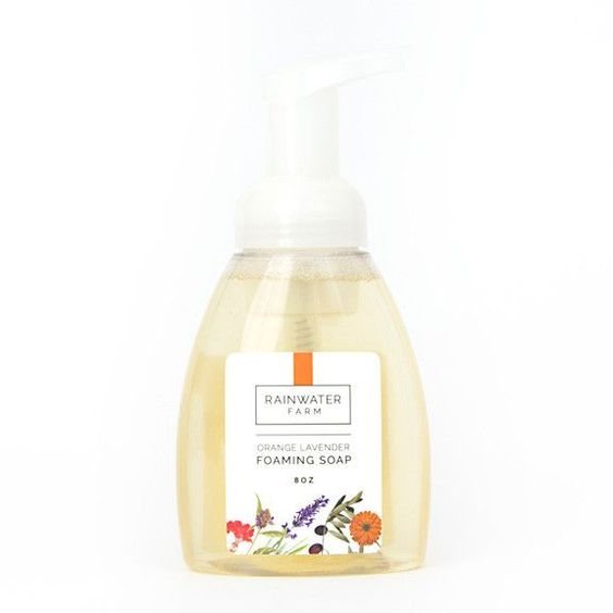 Orange Lavender Foaming Soap