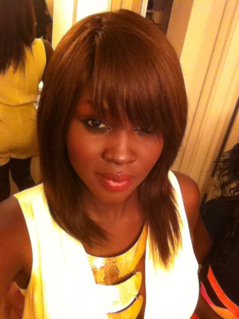 10 in straight Milky Way Color: 4 Quick Weave Style: Slanted front ...