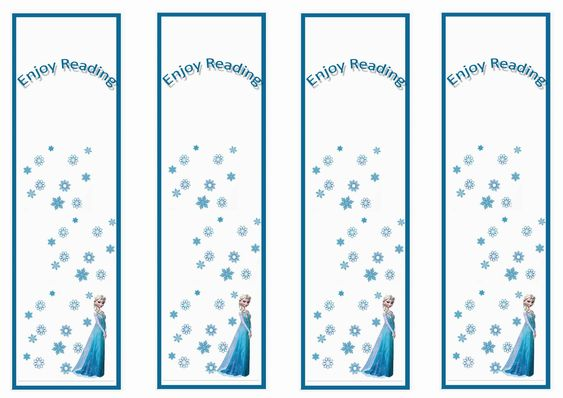 Many kinds of printable bookmarks for you and your kids.